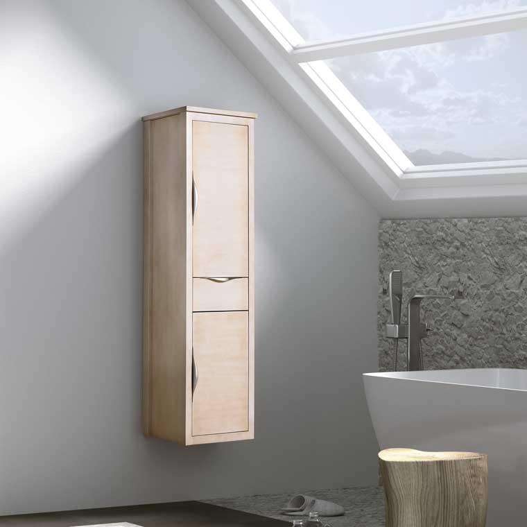 Mueble auxiliar ba o suspendido sheila de la serie de ba o for Mueble auxiliar lavabo