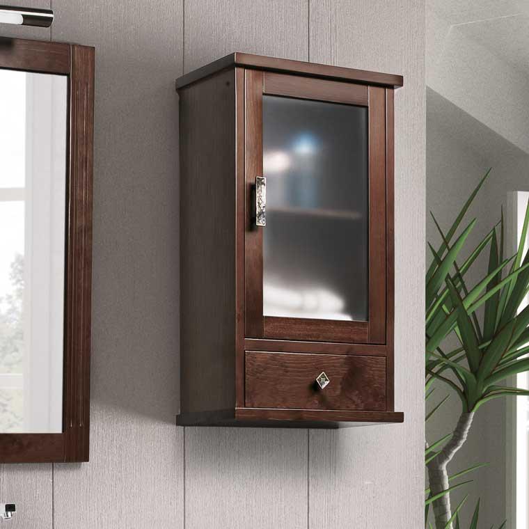 Muebles auxiliares de baño para colgar