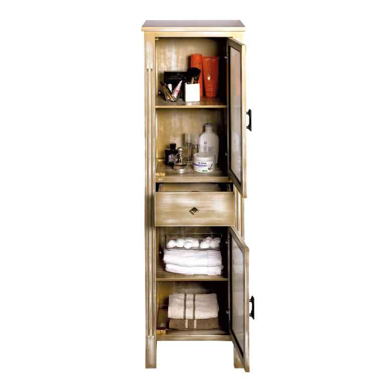 Mueble auxiliar ba o pie sof a armario de la serie de - Muebles auxiliares bano ...