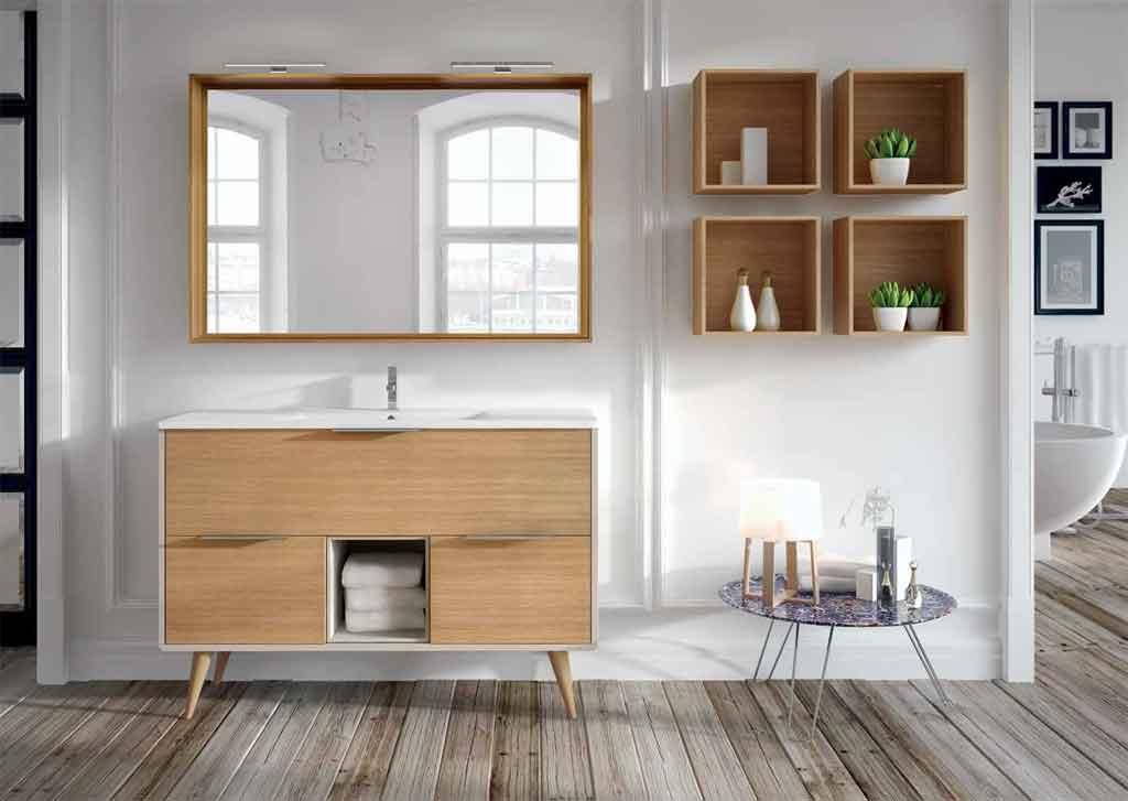 Mueble de ba o vintage 100 cm 3c y caja de la serie vintage o vintass - Mueble bano vintage ...