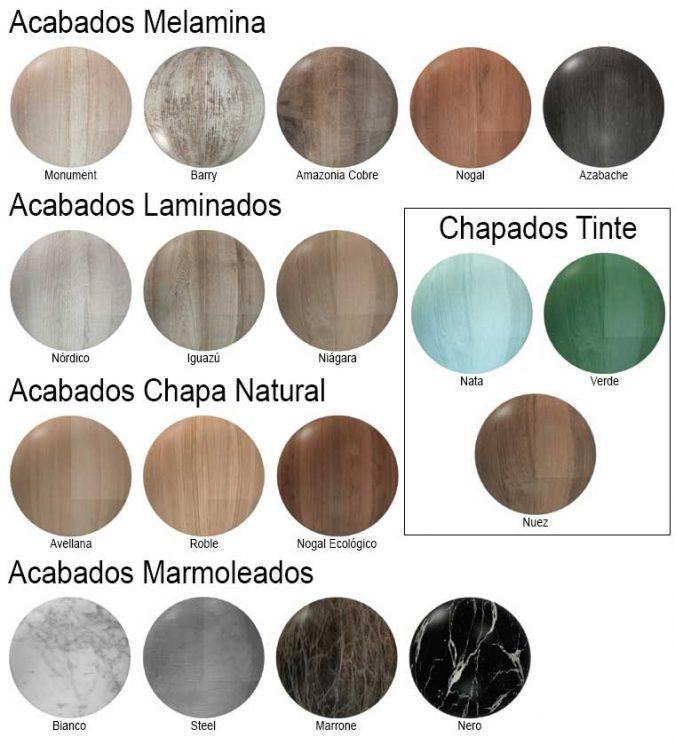 Colores Chapados Creaciones Campoaras