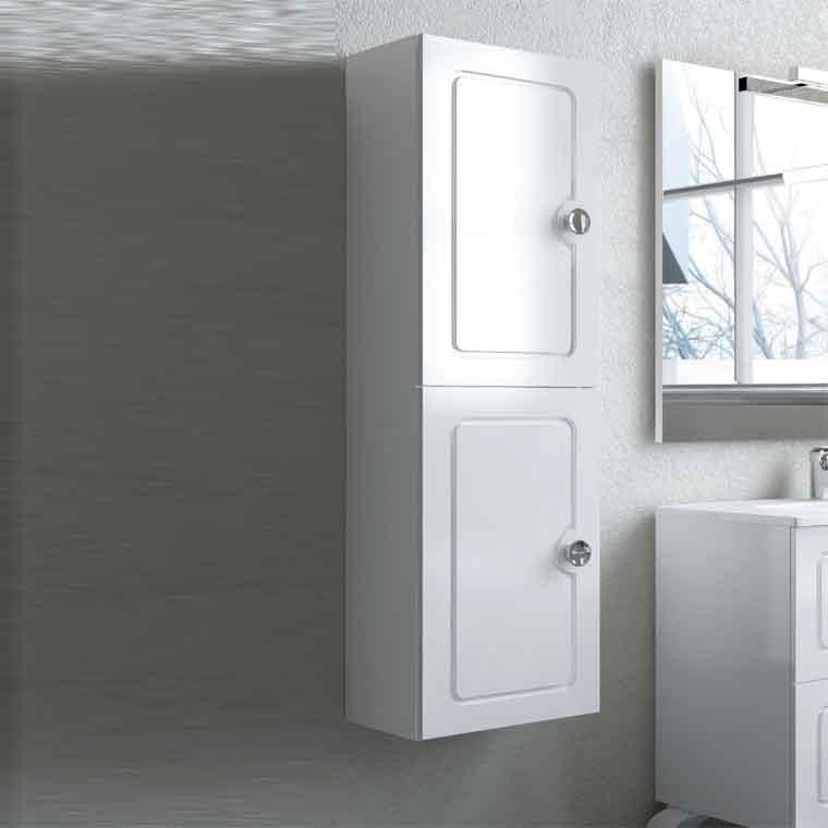 Mueble auxiliar de ba o suspendido dalma de la serie de for Mueble auxiliar lavabo