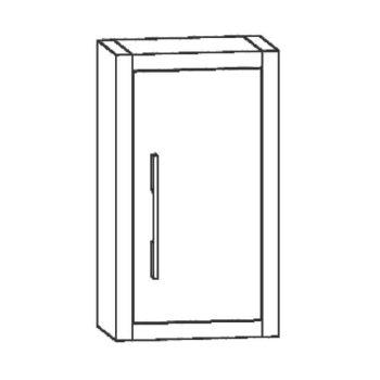 Mueble Auxiliar Baño de Colgar Diamant