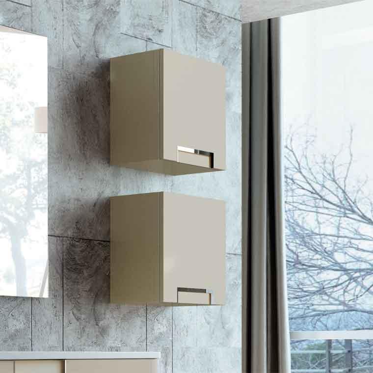 Muebles auxiliares baño para colgar : Mueble auxiliar de ba?o colgar dado luna la serie