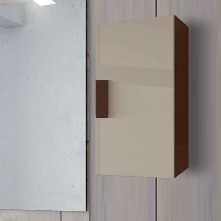 Mueble auxiliar de ba o de colgar kuve de la serie de ba o - Muebles auxiliares bano ...