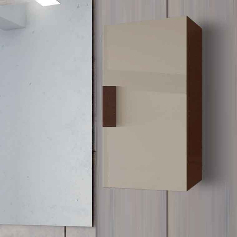 Mueble auxiliar de ba o de colgar kuve de la serie de ba o kuve - Muebles de bano para colgar ...