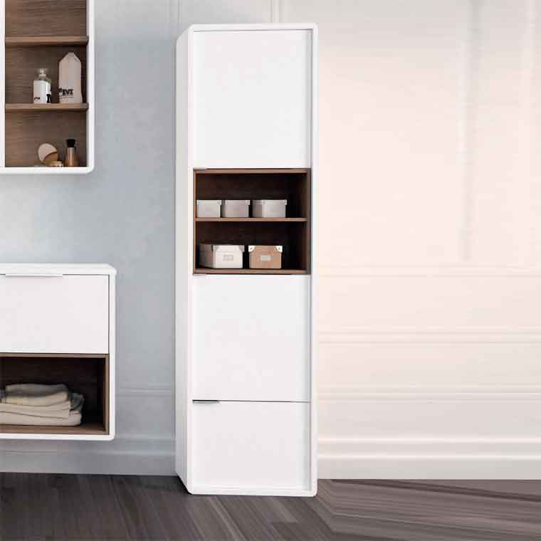 Auxiliar de ba o columna vintage de la serie de ba o - Ikea muebles auxiliares de bano ...