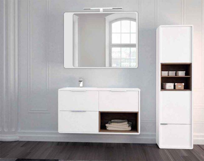Ambiente Mueble de Baño Vintage 3C y Caja Lateral