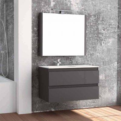 Mueble de Baño Aqua Suspendido 3C 100 cm.