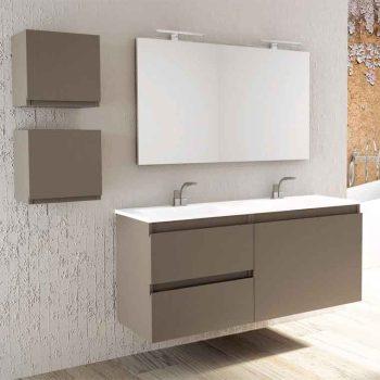 Mueble de Baño Aqua Suspendido 3C 120 cm.