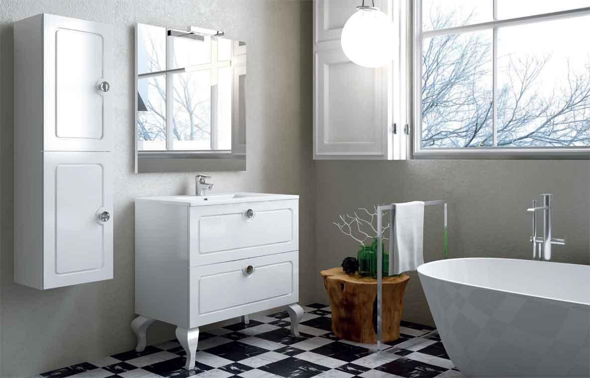 Mueble de ba o dalma 60 cm mueble de la serie de ba o dalma - Muebles de bano de 60 cm ...