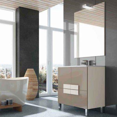Mueble de ba o forja escudo 70 cm muebles de ba o escudo for Muebles de cocina de 70 o 90