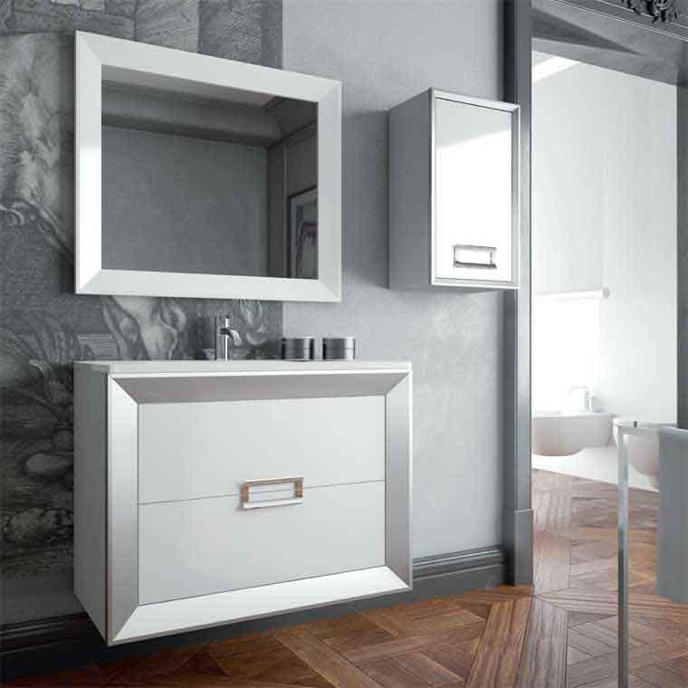 Muebles suspendidos para cuartos de baño