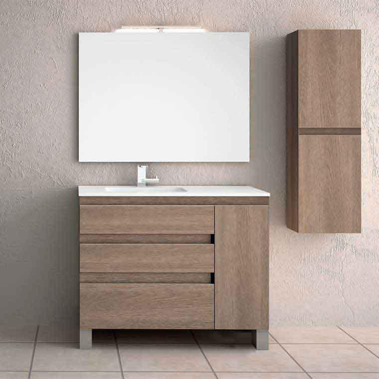 Mueble de ba o liam 120 cm mueble de la serie de ba o liam for Mueble lavabo 120 cm