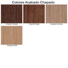 Colores Chapado, de Muebles de Baño