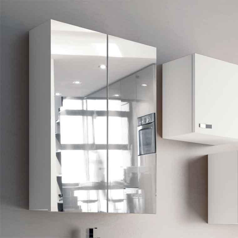 Camerino de ba o 2 y 3 puertas muebles de ba o colgar - Muebles de bano para colgar ...