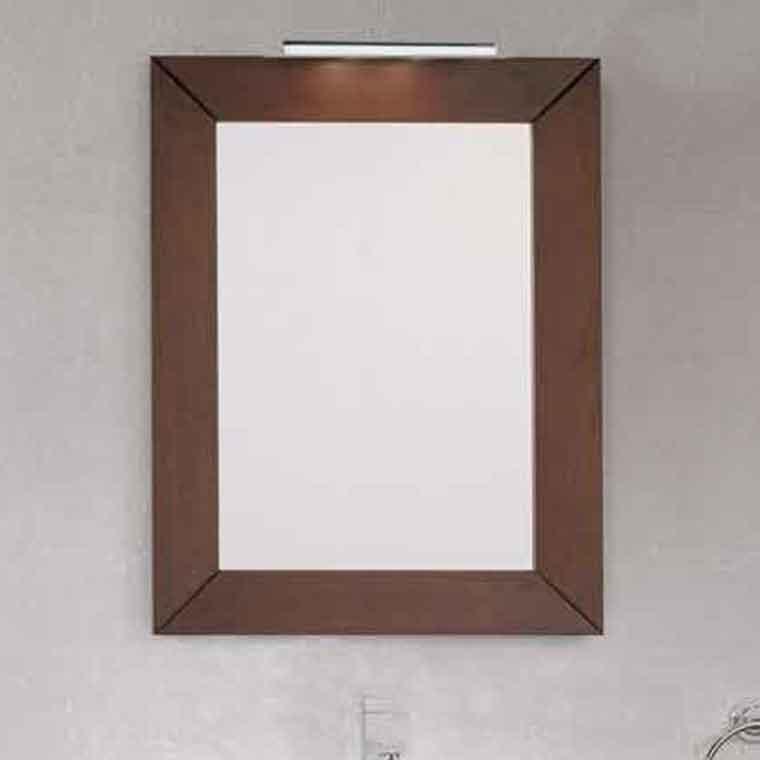 Espejo de ba o carla espejo de la serie de ba o carla for Espejos de bano rusticos