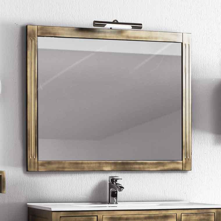 Espejo de ba o sof a espejos de la serie de ba o sof a for Espejos de bano rusticos