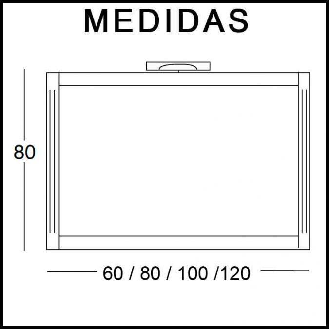 Medidas Espejos de Baño Sofía