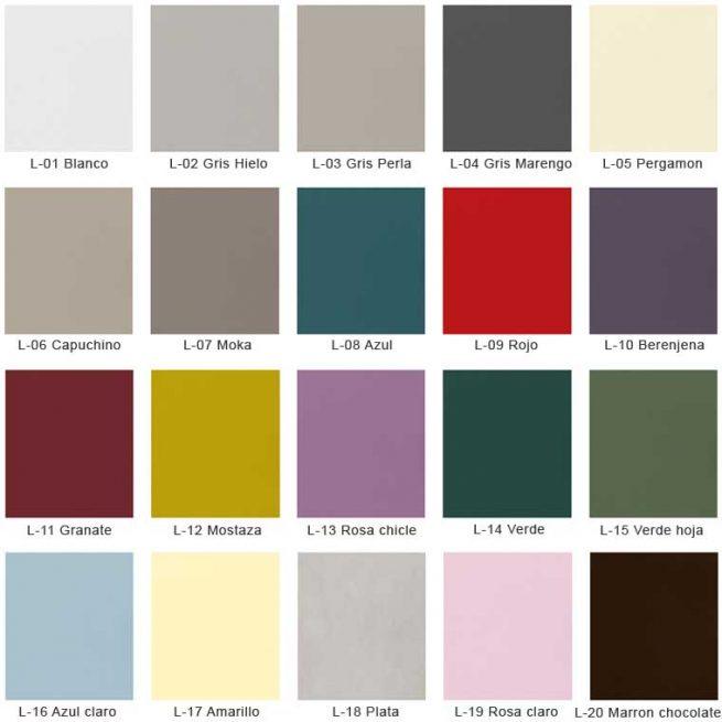 Colores de Muebles de Baño Verrochio