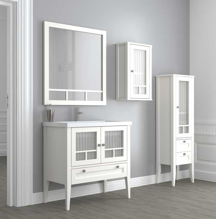Mueble de ba o eco de 60 cm mueble de la serie de ba o eco - Muebles de bano de 60 cm ...