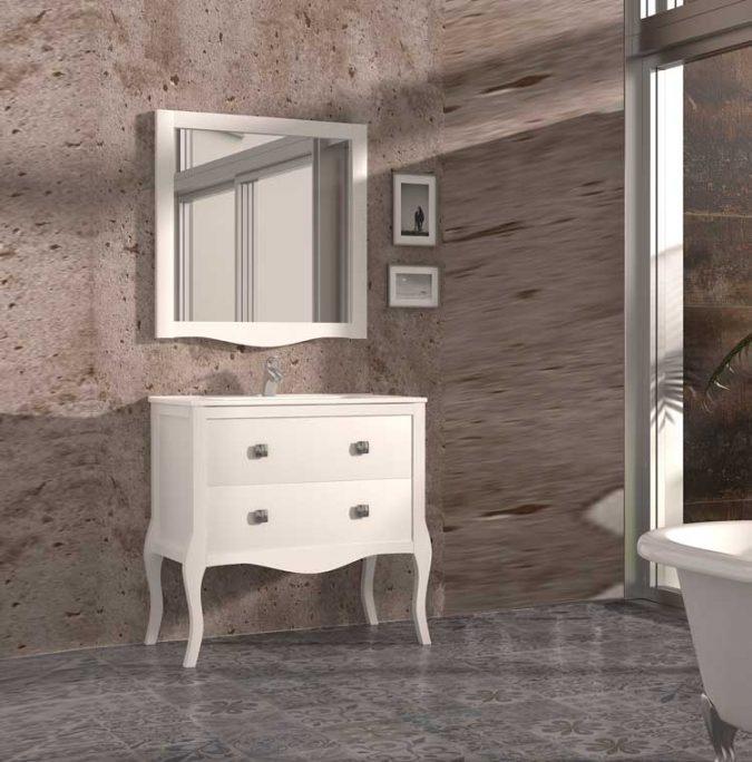 Mueble de Baño Lago 100 cm.