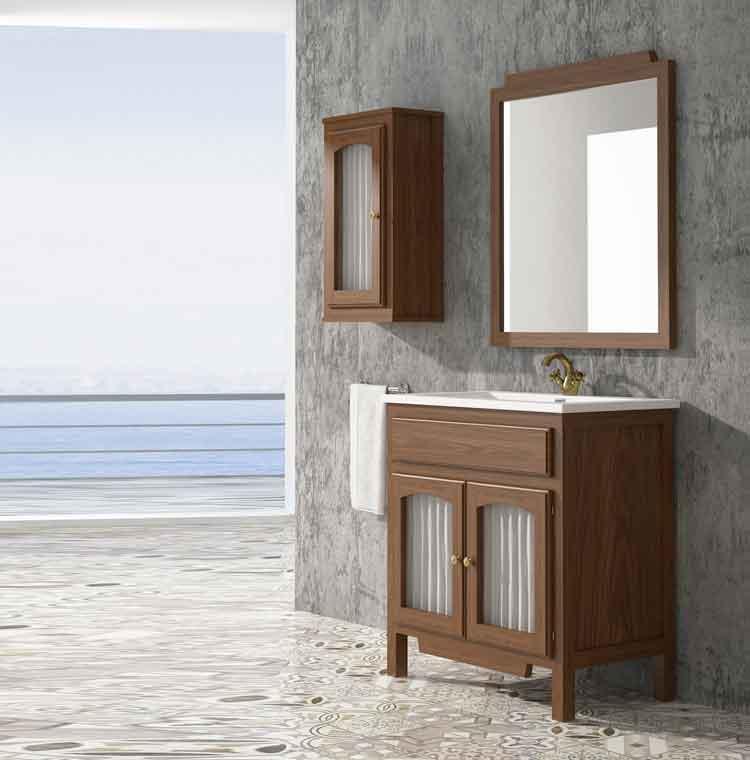 Mueble de ba o zuri de 70 cm mueble de la serie de ba o zuri for Mueble recibidor 70 cm