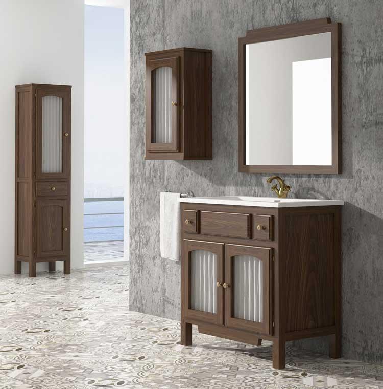 Mueble de ba o zuri de 80 cm mueble de la serie de ba o zuri - Mueble bano 80 cm ...