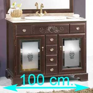 Muebles de baño 100 cm.