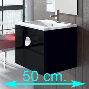Muebles de baño 50 cm.