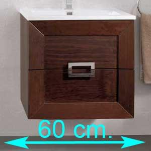 Muebles de baño 60 cm.