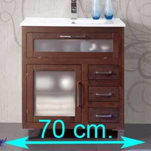 Muebles de baño 70 cm.