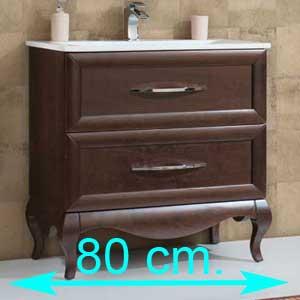 Muebles de baño 80 cm.