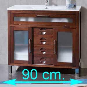 Muebles de baño 90 cm.