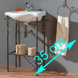 Muebles de baño fondo 35 cm.