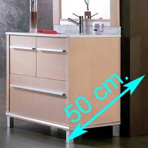 Muebles de baño fondo 50 cm.