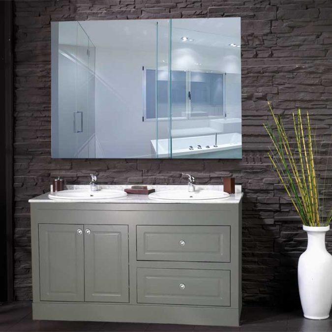 Mueble de Baño Bimba 140 cm. OFERTA. Encimera Mármol Blanco