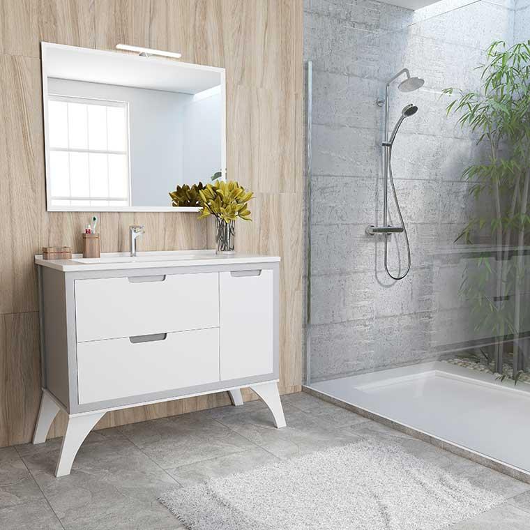 Muebles de baño con patas o de suelo