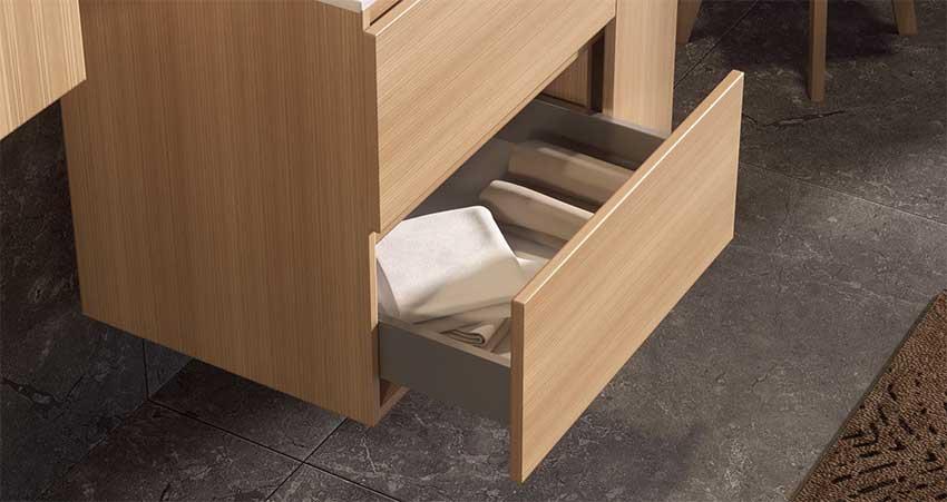 Muebles de Baño con Guías Concept de Emuca