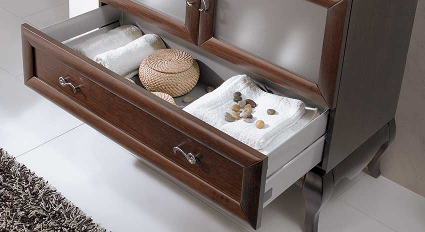 Muebles de Baño con Guías Hettich