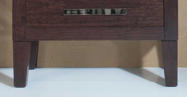 Mueble de baño, Patas de Madera