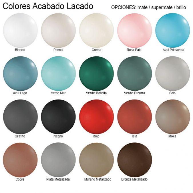 Colores Lacados Creaciones Campoaras