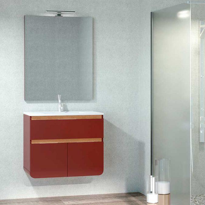 Mueble de Baño Lusso 90 cm.