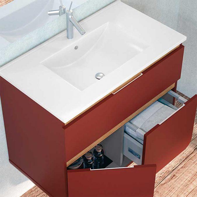Mueble de Baño Lusso cm. Detalle