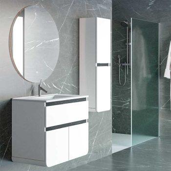 Mueble de Baño Lusso 90 cm. con Espejo Anti Vaho