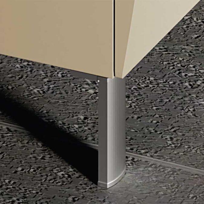 Patas 21-B Aluminio Creaciones Campoaras. Perfil