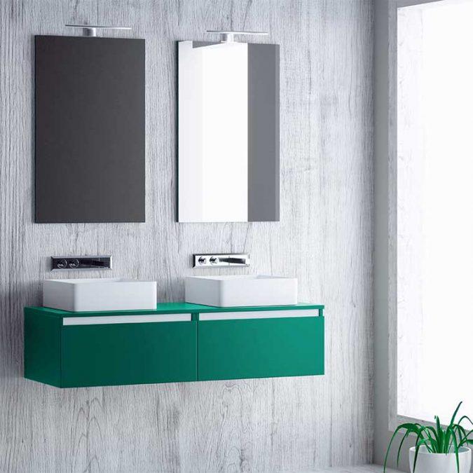 Mueble de Baño Aqua suspendido 120 cm. 01