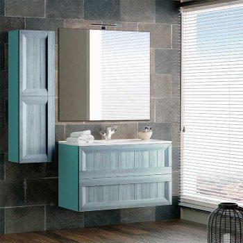 Mueble de Baño Terra con espejo Liso
