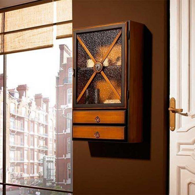 Mueble armario auxiliar de colgar Alba de Taberner.