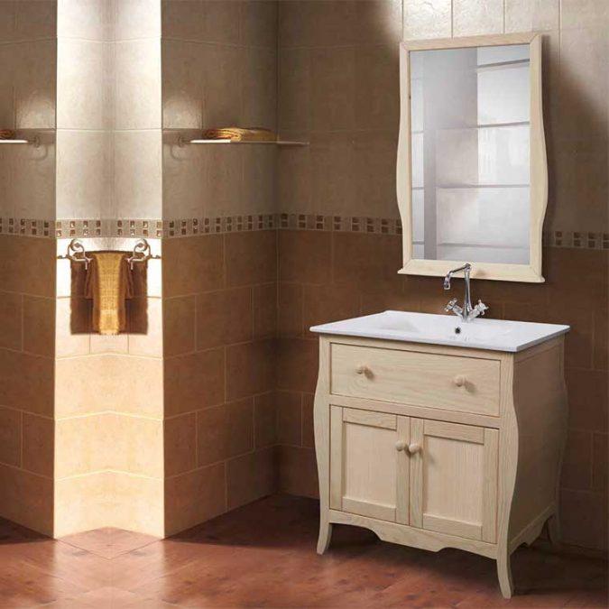 Conjunto Mueble de baño Home de 80 cm.
